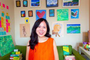 A snapshot of Monica Kang founder of InnovatorsBox.