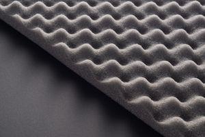 Acoustic foam paneling