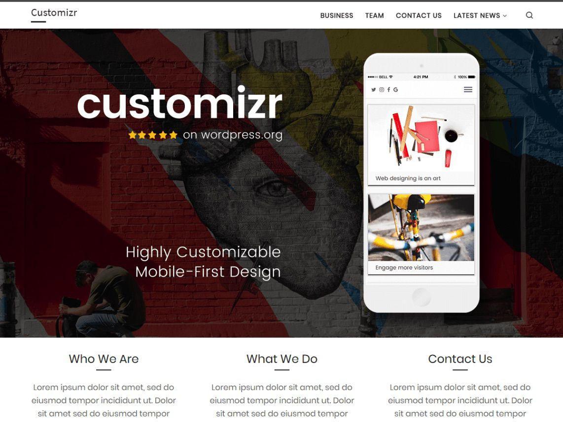 10 of the Best Free Mobile Responsive WordPress Themes