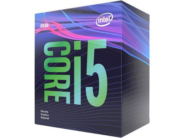 Intel Core i5-9400F Product Box