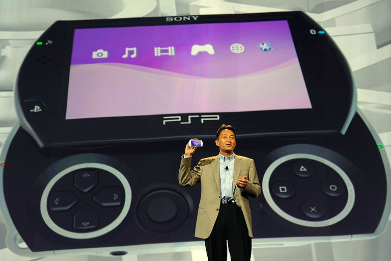 Sony PSP Go launch event