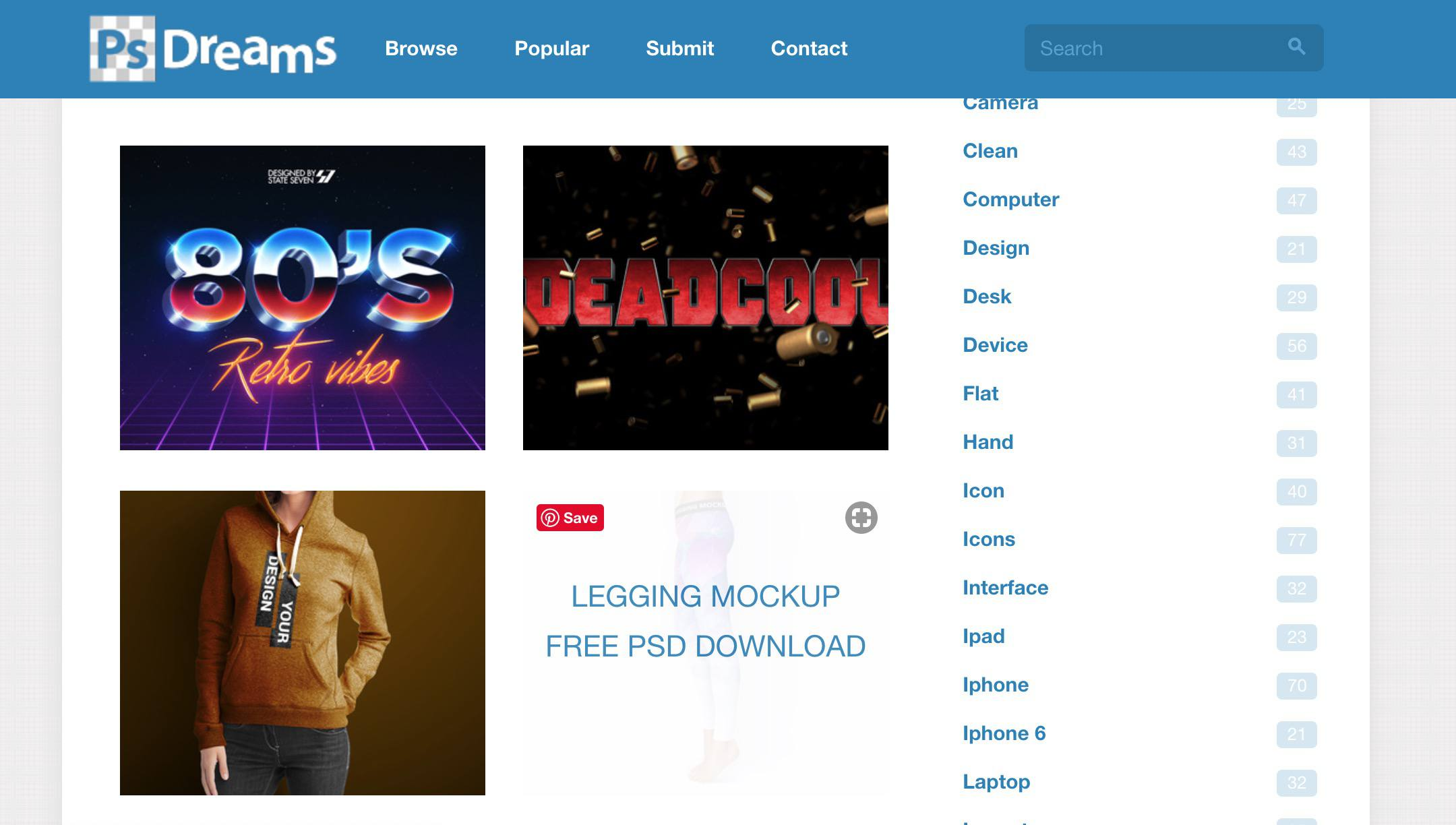 11 Best Sites to Find Free PSD Templates for Photoshop