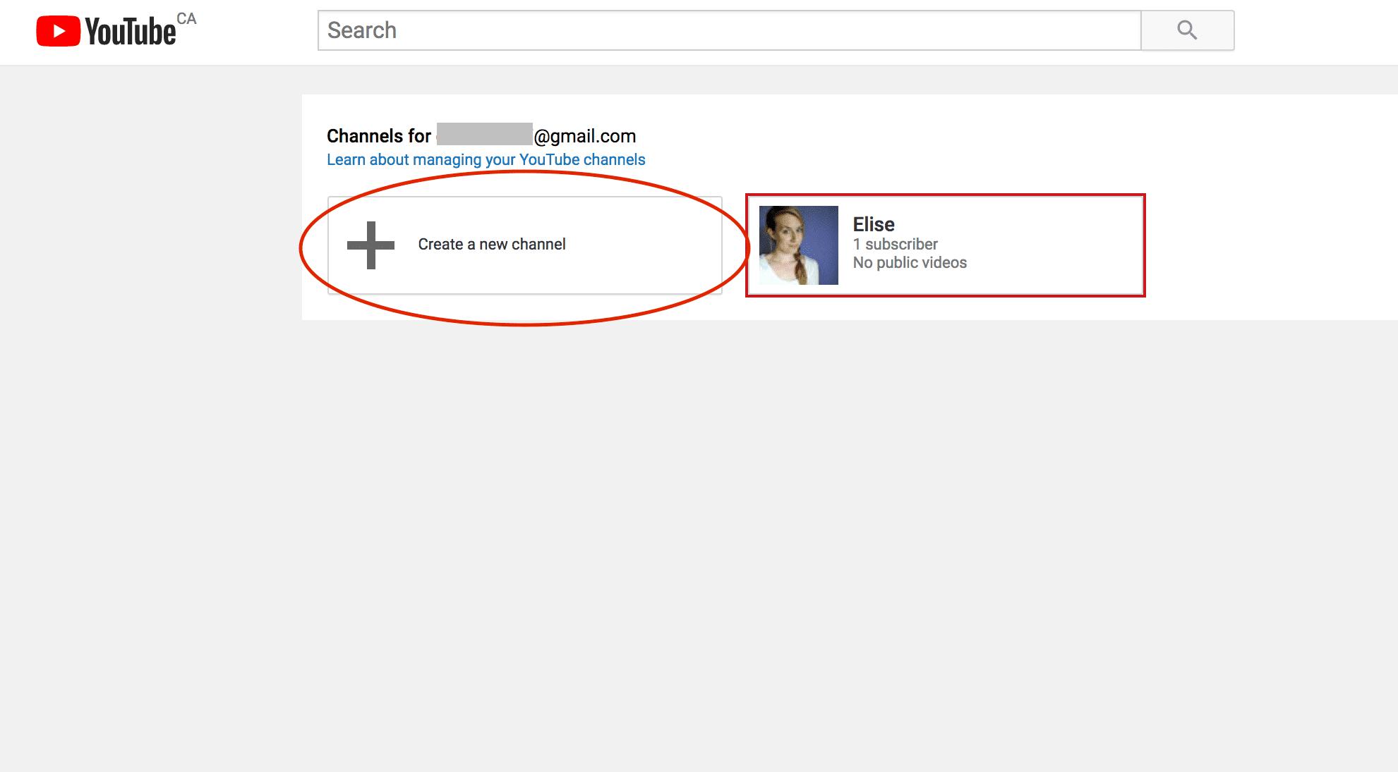 Google account nickname youtube