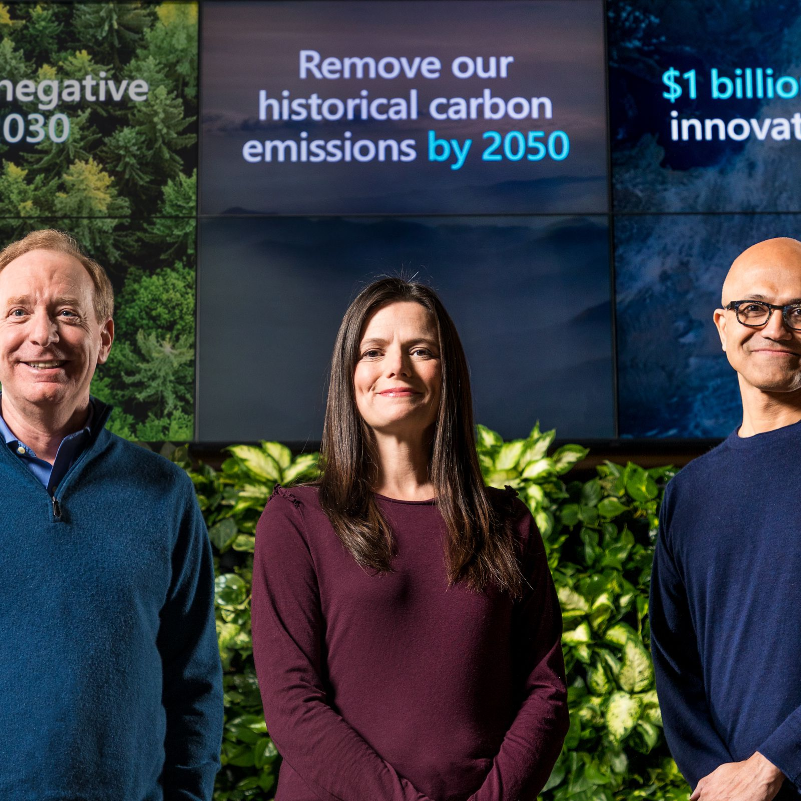 Microsoft Commits to Being Carbon Negative by 2030