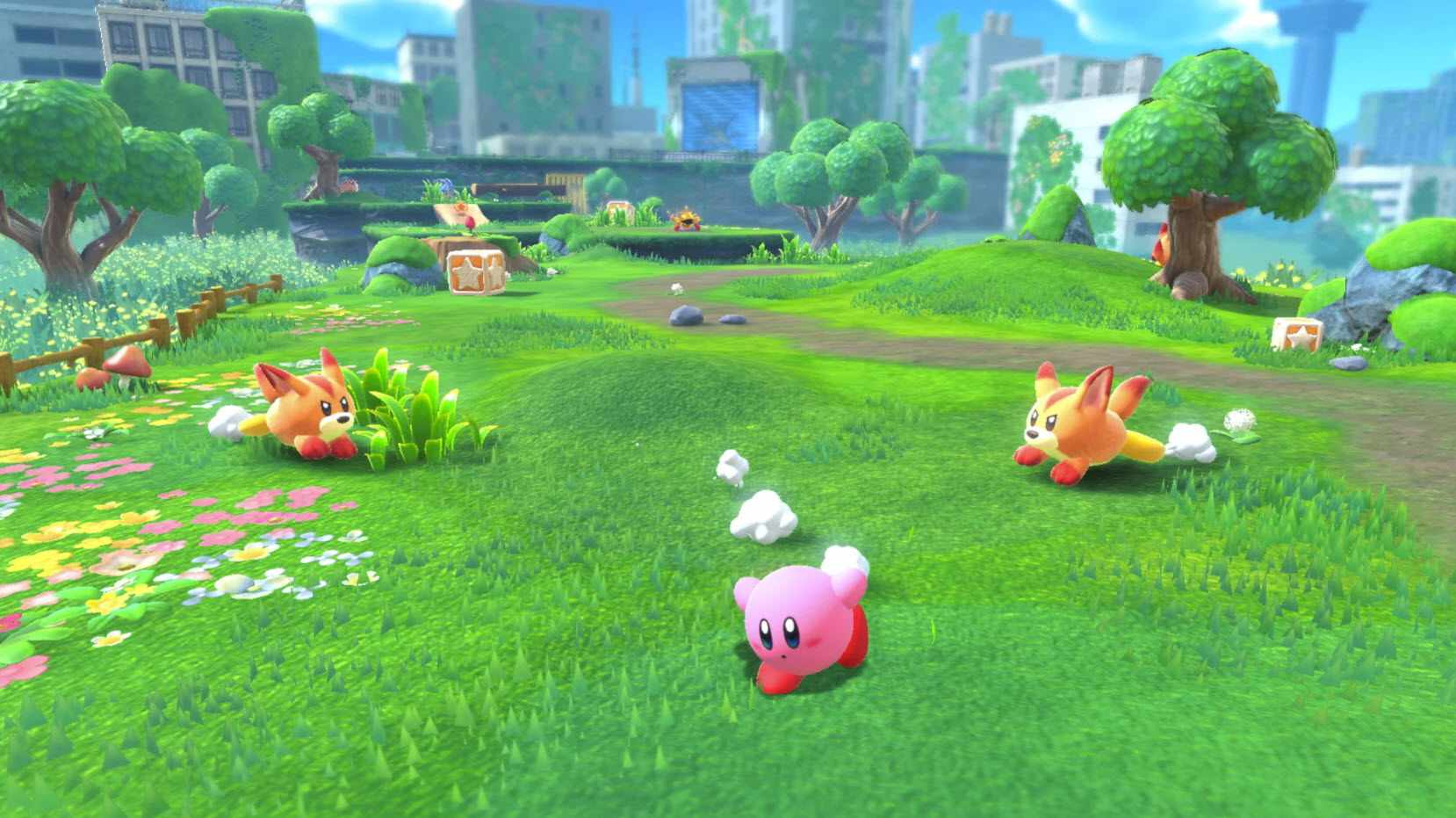 An image from 'Kirby and the Forgotten Land.'