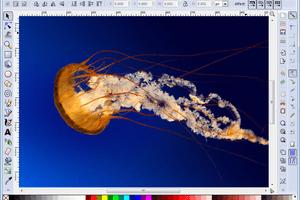 Screenshot of Inkscape in Windows 7