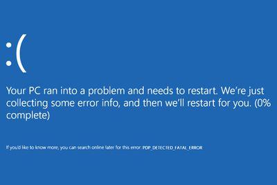 Windows 10 Blue Screen of Death
