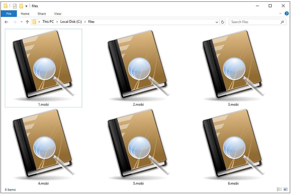 MOBI Files