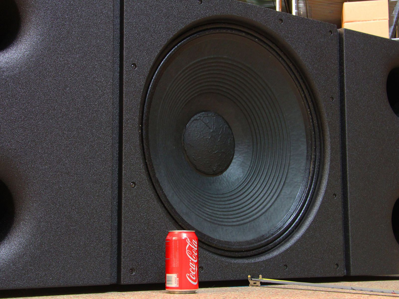 A 24-inch woofer + 1,800 watts = ???