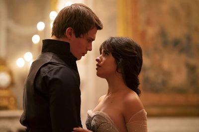 Camila Cabello and Nicholas Galitzine in 'Cinderella' (2021)
