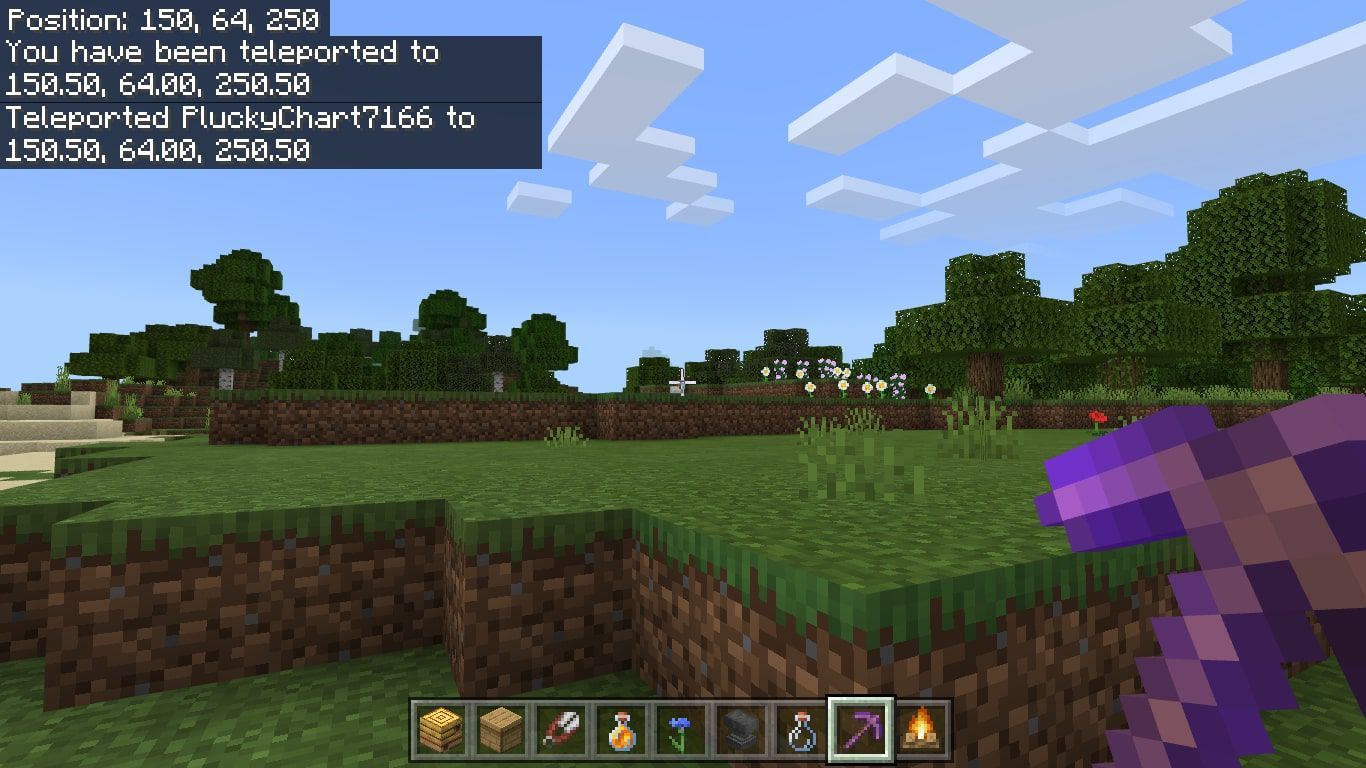 How to Use the Tp (Teleport) Command in Minecraft