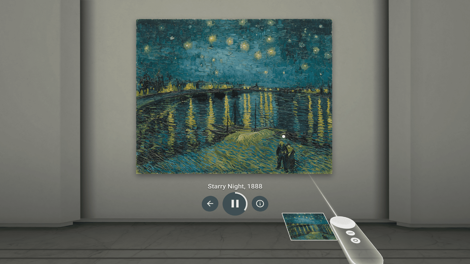 Google Arts and Culture lets you explore museums and art galleries.