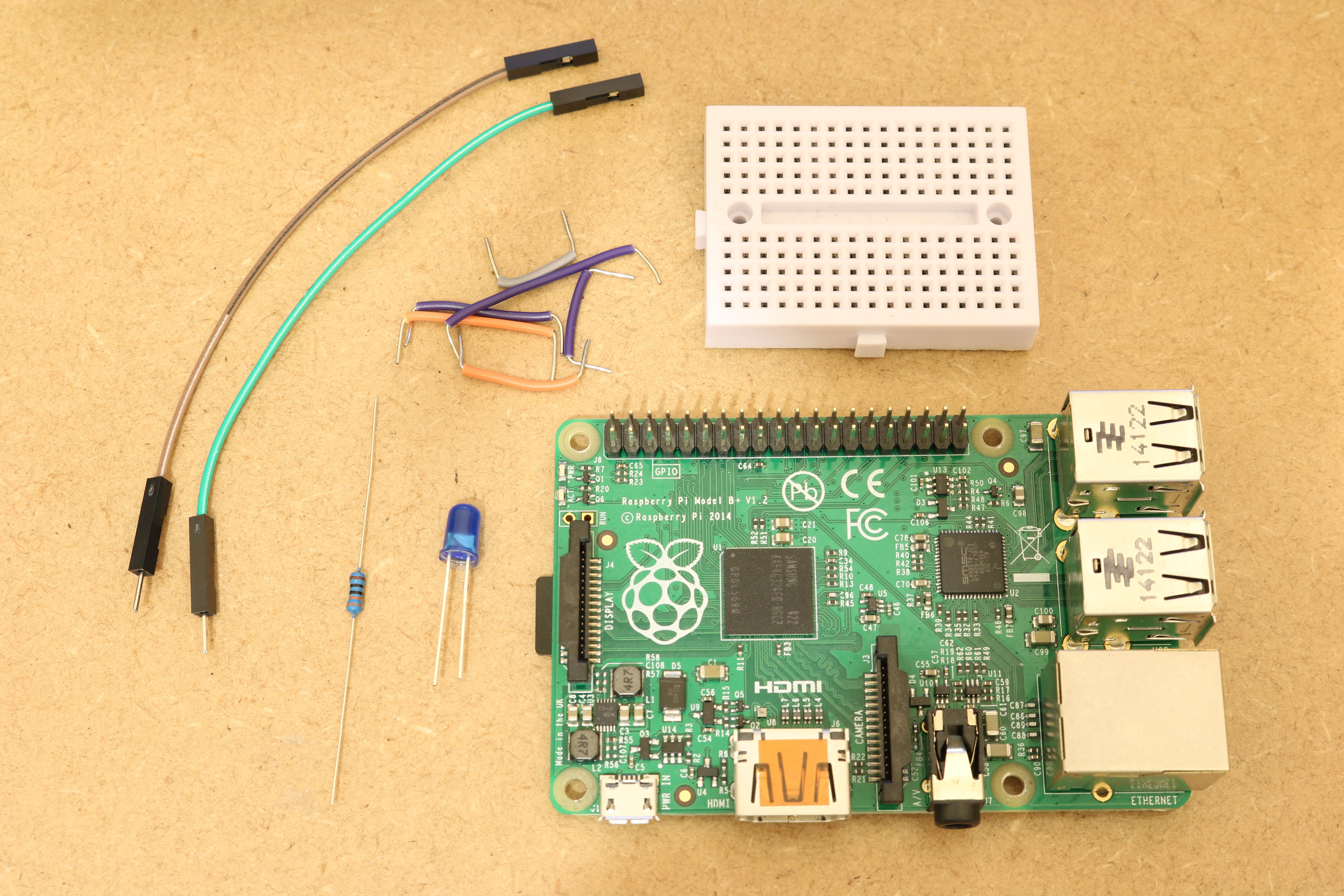 How To Use Raspberry Pis Row Of Gpio Pins On The Board Led Running Lights Electronics Project Parts Required For