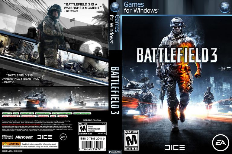 Battlefield 3 Box Art