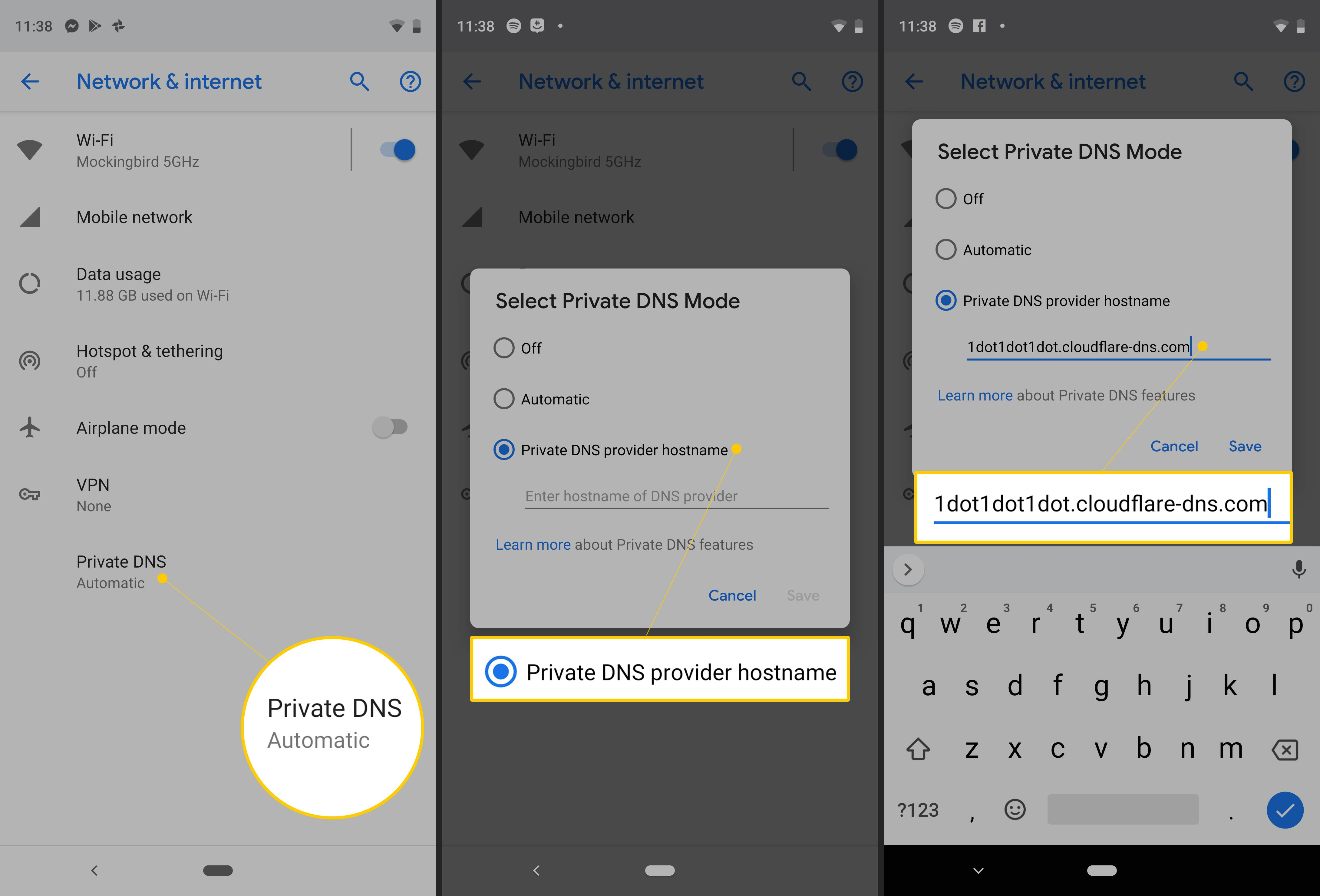 How to Change DNS On Android