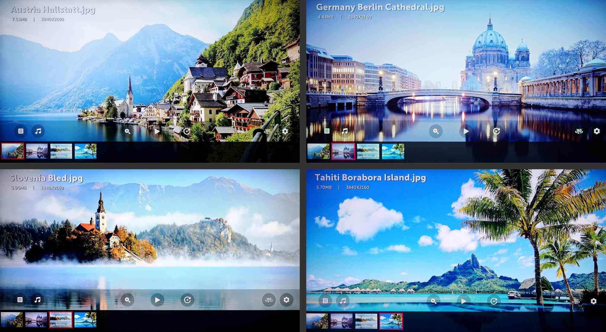 LG 4K Ultra HD TV – Sample Images