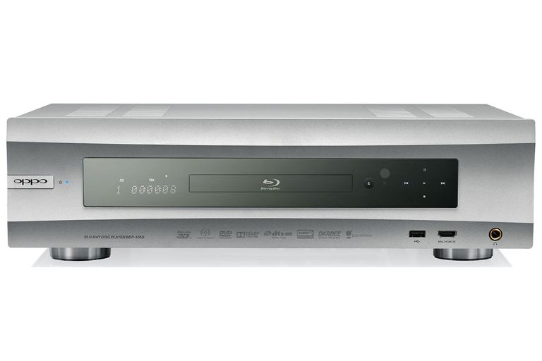 OPPO Digital BDP-105D Darbee Edition Audiophile Blu-ray Disc Player