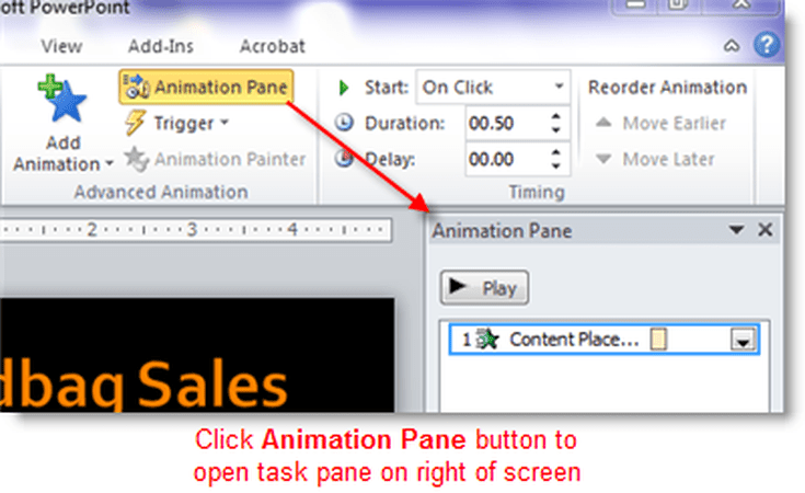 Animate Specific Parts Of A Chart In Microsoft Office 365 Powerpoint