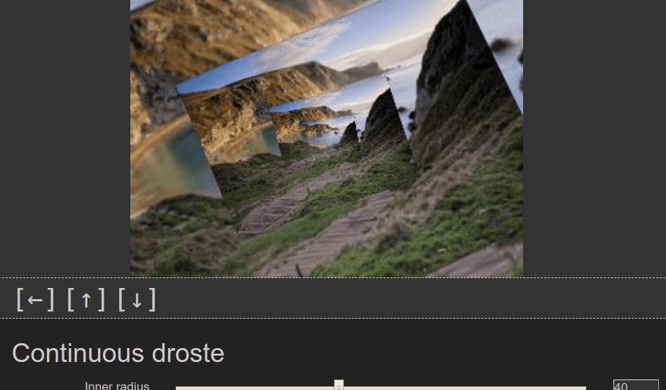 Screenshot of the G'MIC GIMP plugin interface.