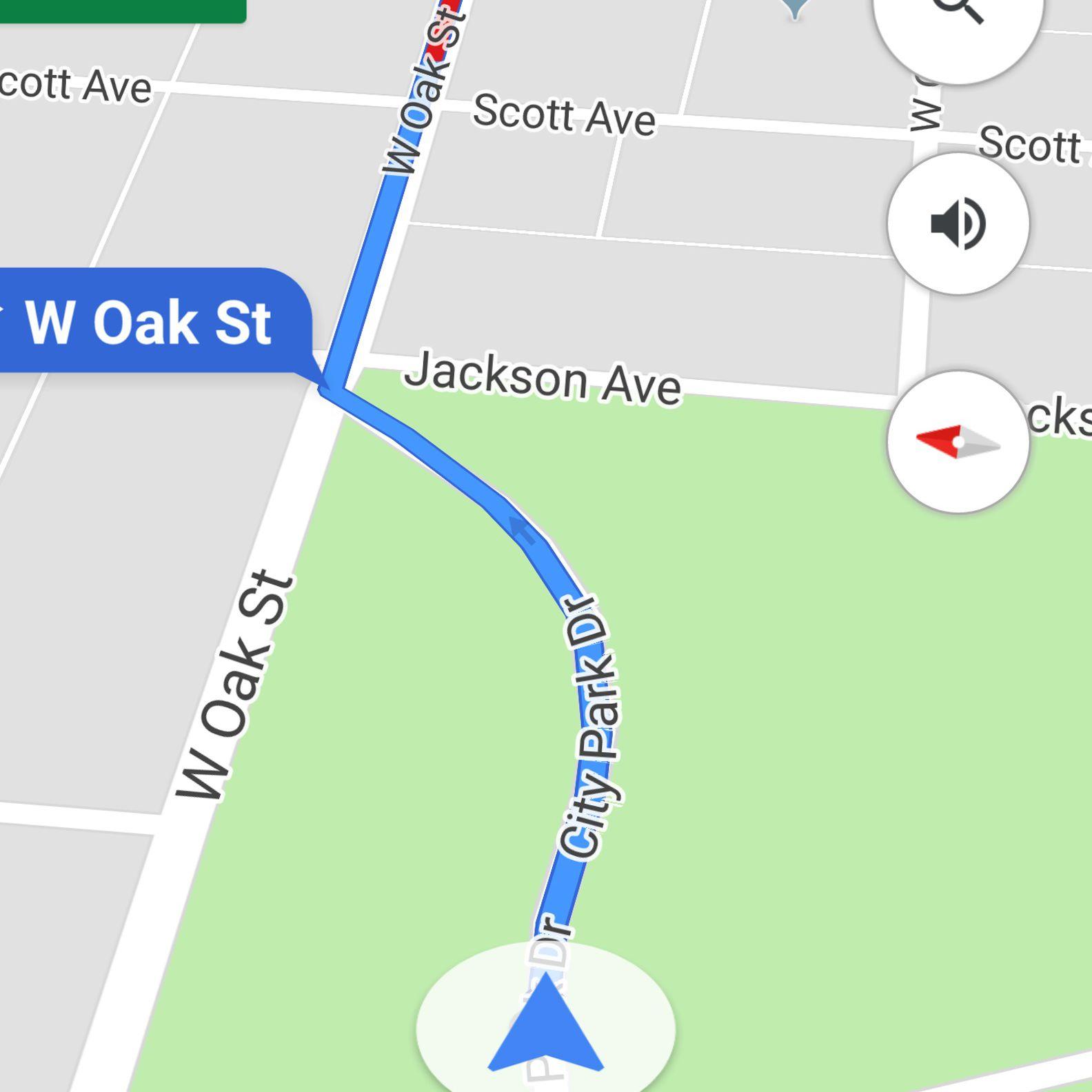 Stop Navigation Using Google Assistant