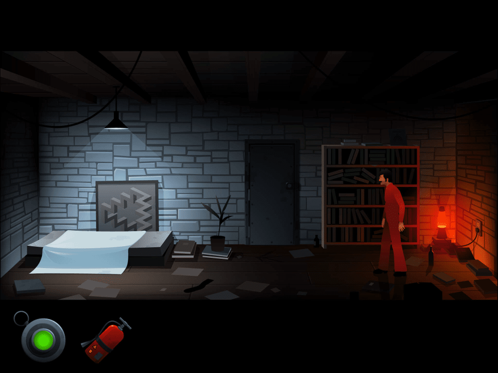 Screenshot of the game 'The Silent Age'