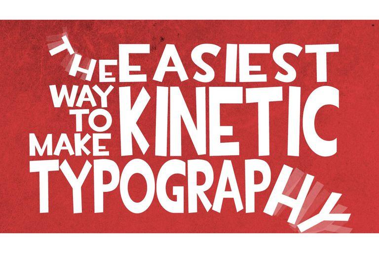 Kinetic Typography example