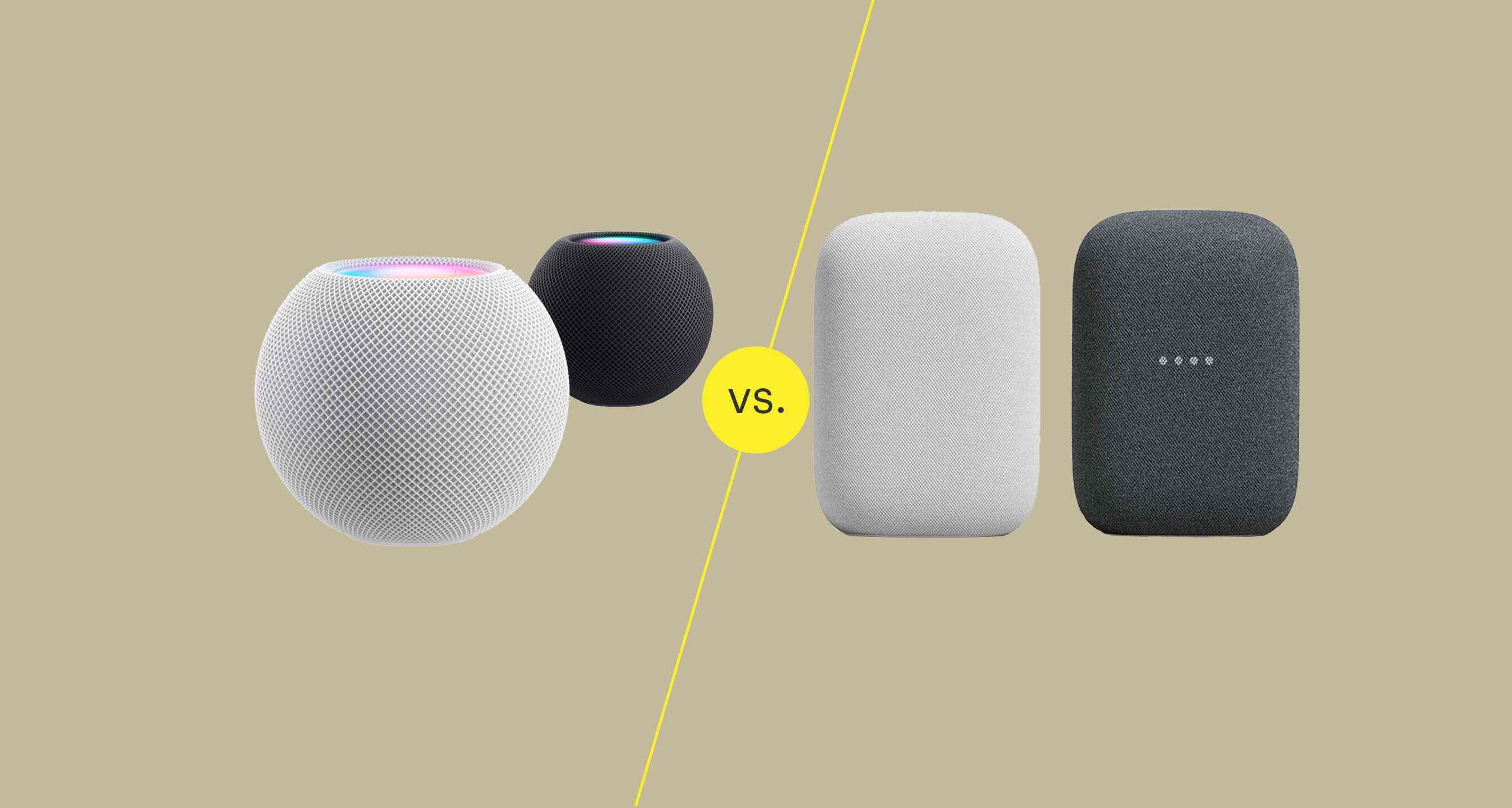 HomePod mini vs. Nest Audio