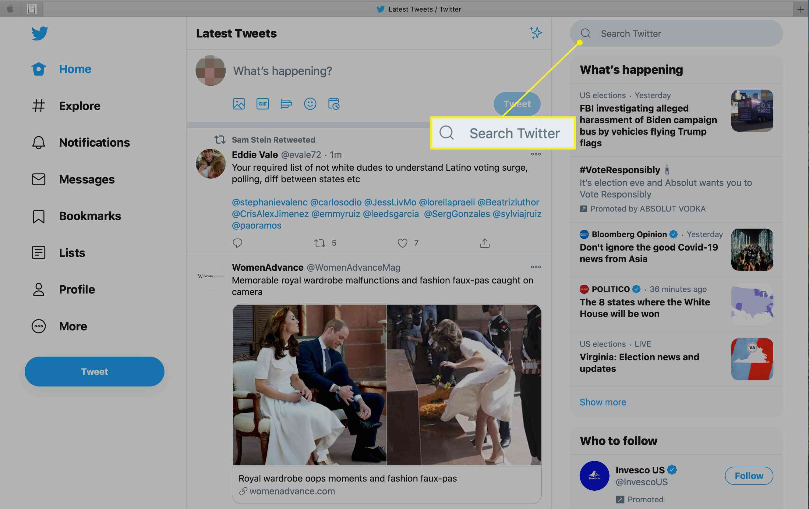 How to Search Twitter Images