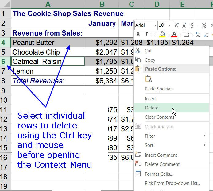 Add And Delete Rows Columns In Excel. Delete Individual Rows In An Excel Worksheet. Worksheet. Insert Worksheet In Excel Not Working At Clickcart.co