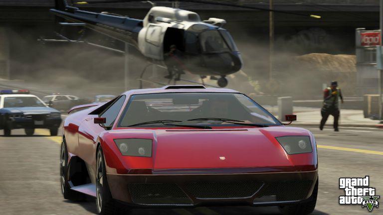 Grand Theft Auto V has amazing mods.