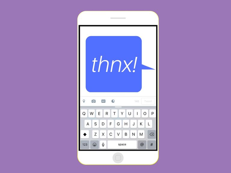 what does thnx mean in textspeak