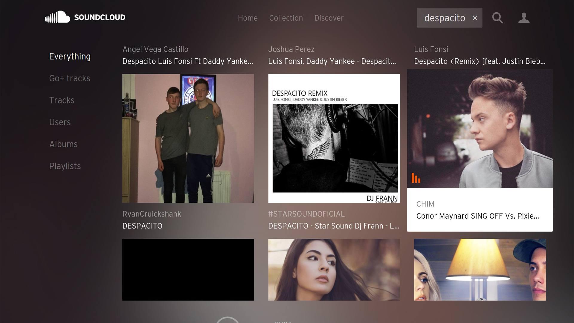SoundCloud for Windows app