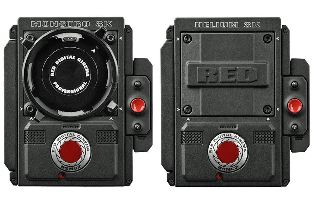 Red Monstro and Helium 8K Cinema Camera Brains