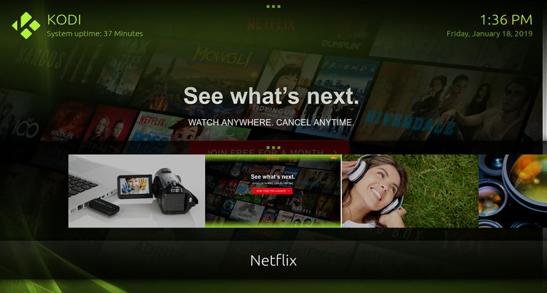 Watch Netflix, Hulu, and Amazon on Kodi
