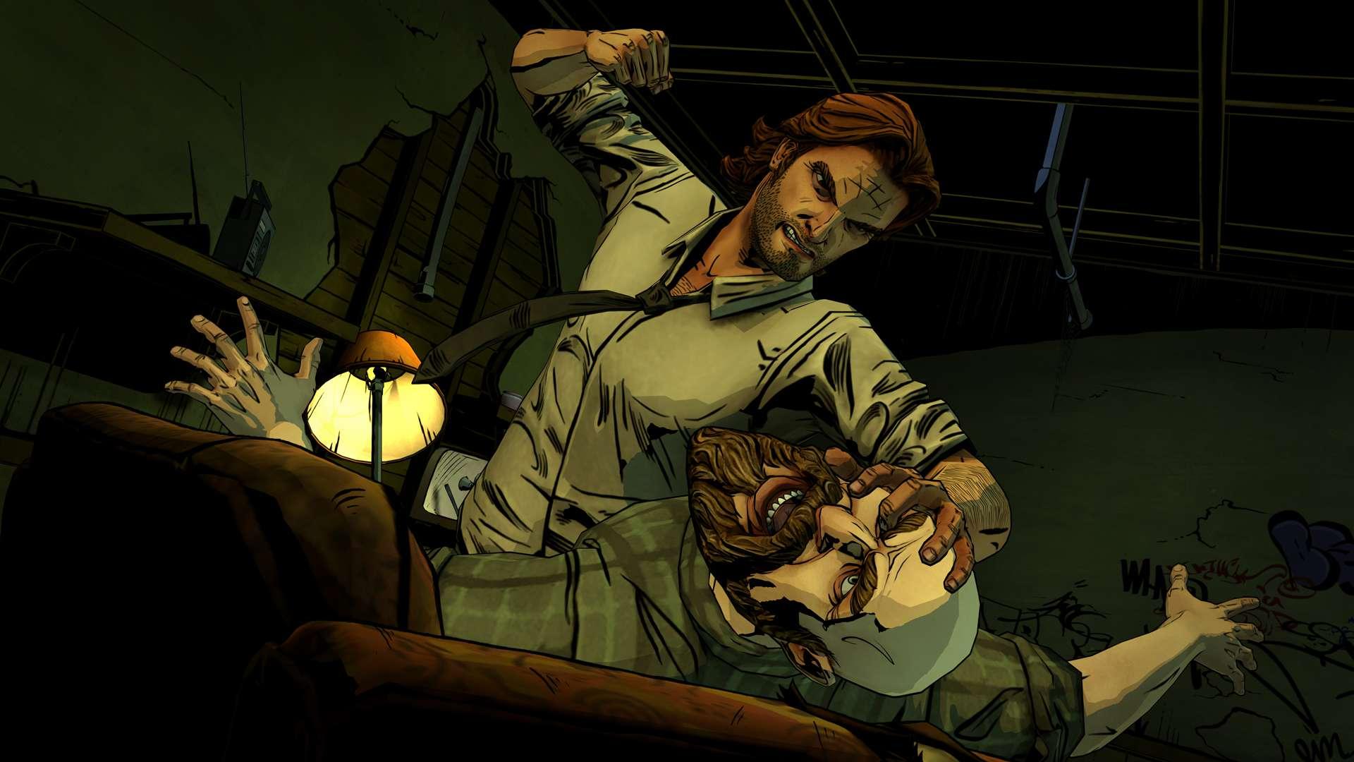 Screenshot of Telltale Games' The Wolf Among Us