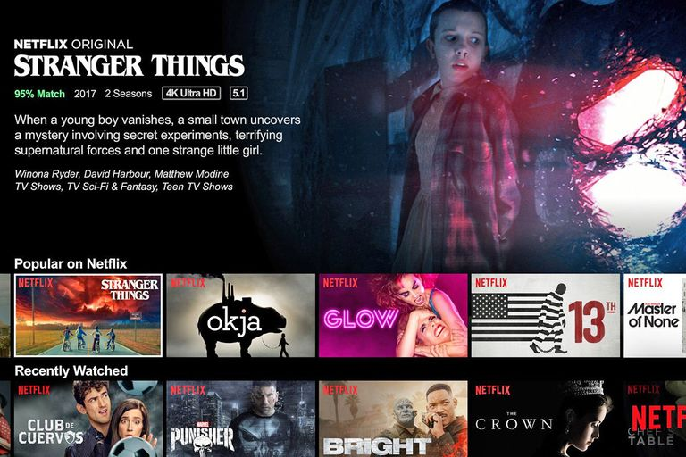 Netflix Stranger Things screenshot