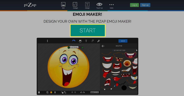 Emoji Maker - selecting