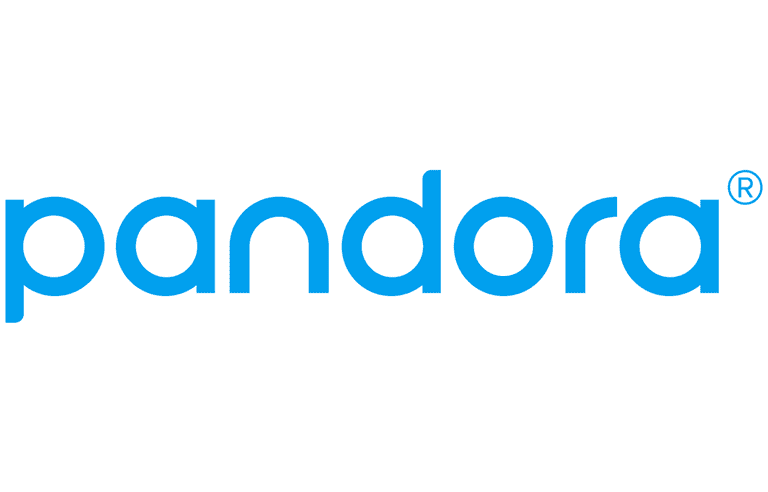 Screenshot of the Pandora logo