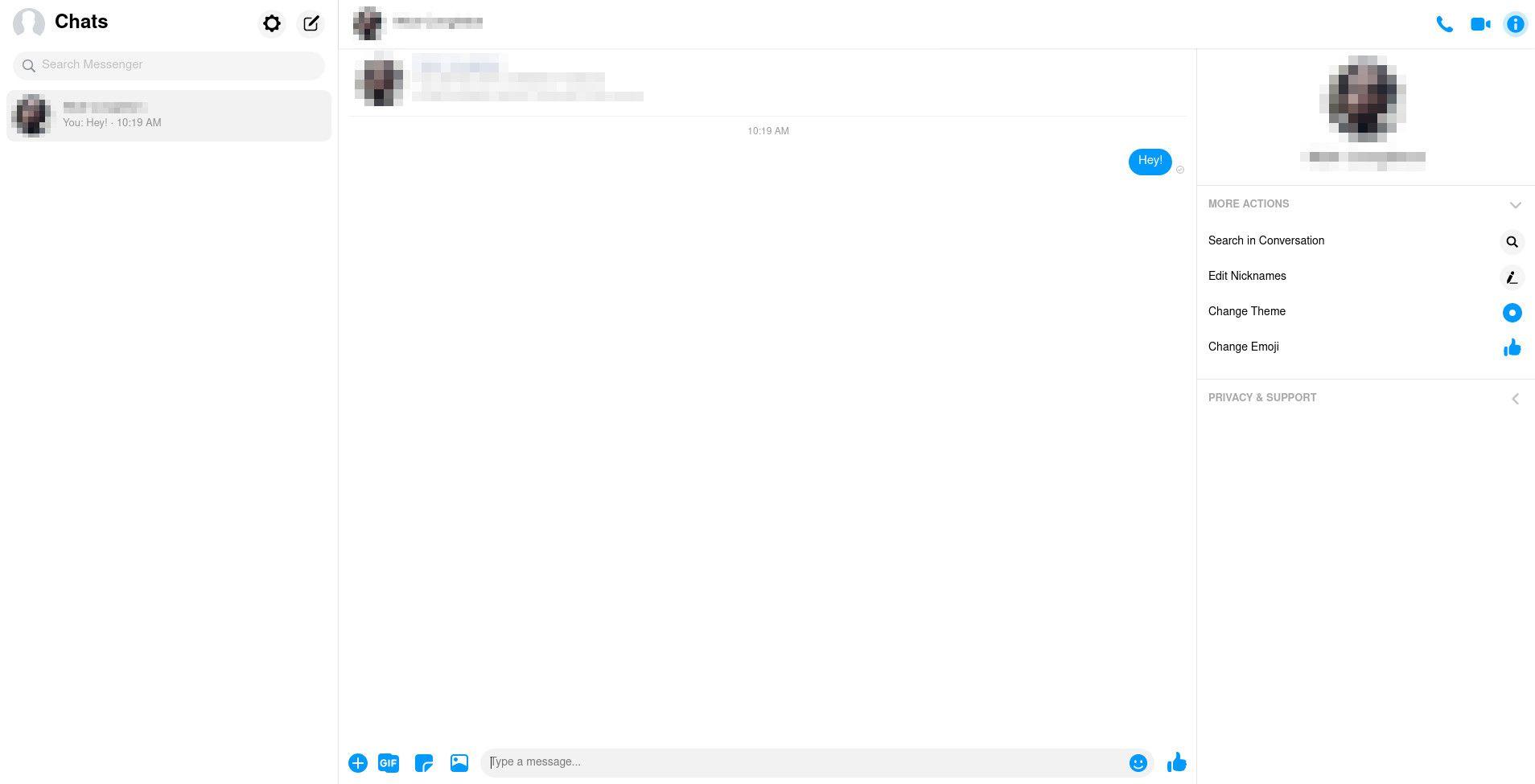 Facebook Messenger.com