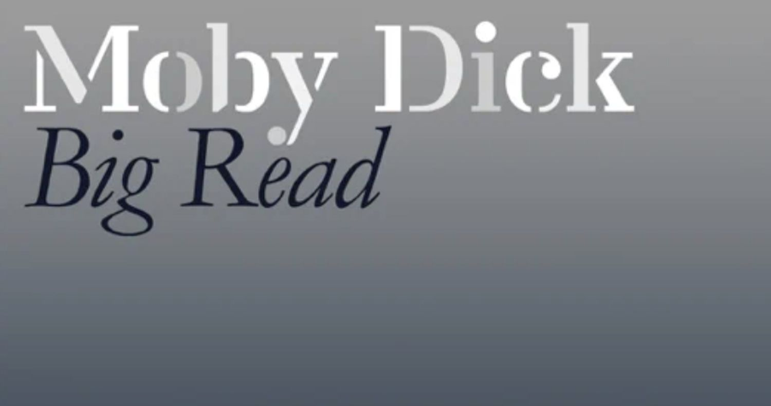 Moby Dick Big Read graphic