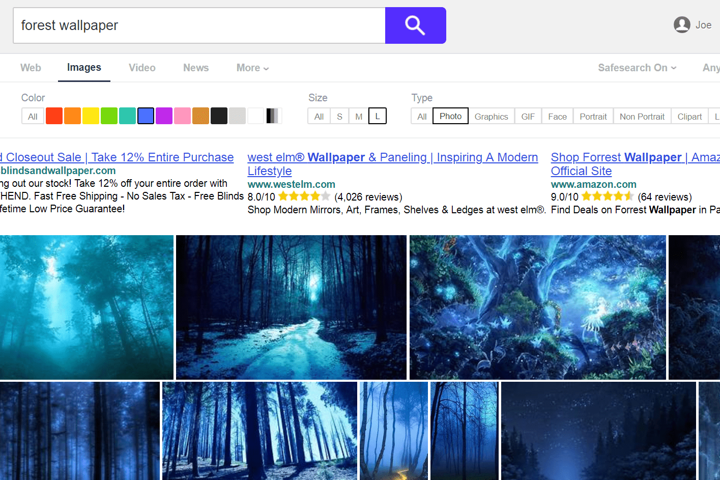 Yahoo search for forest wallpaper