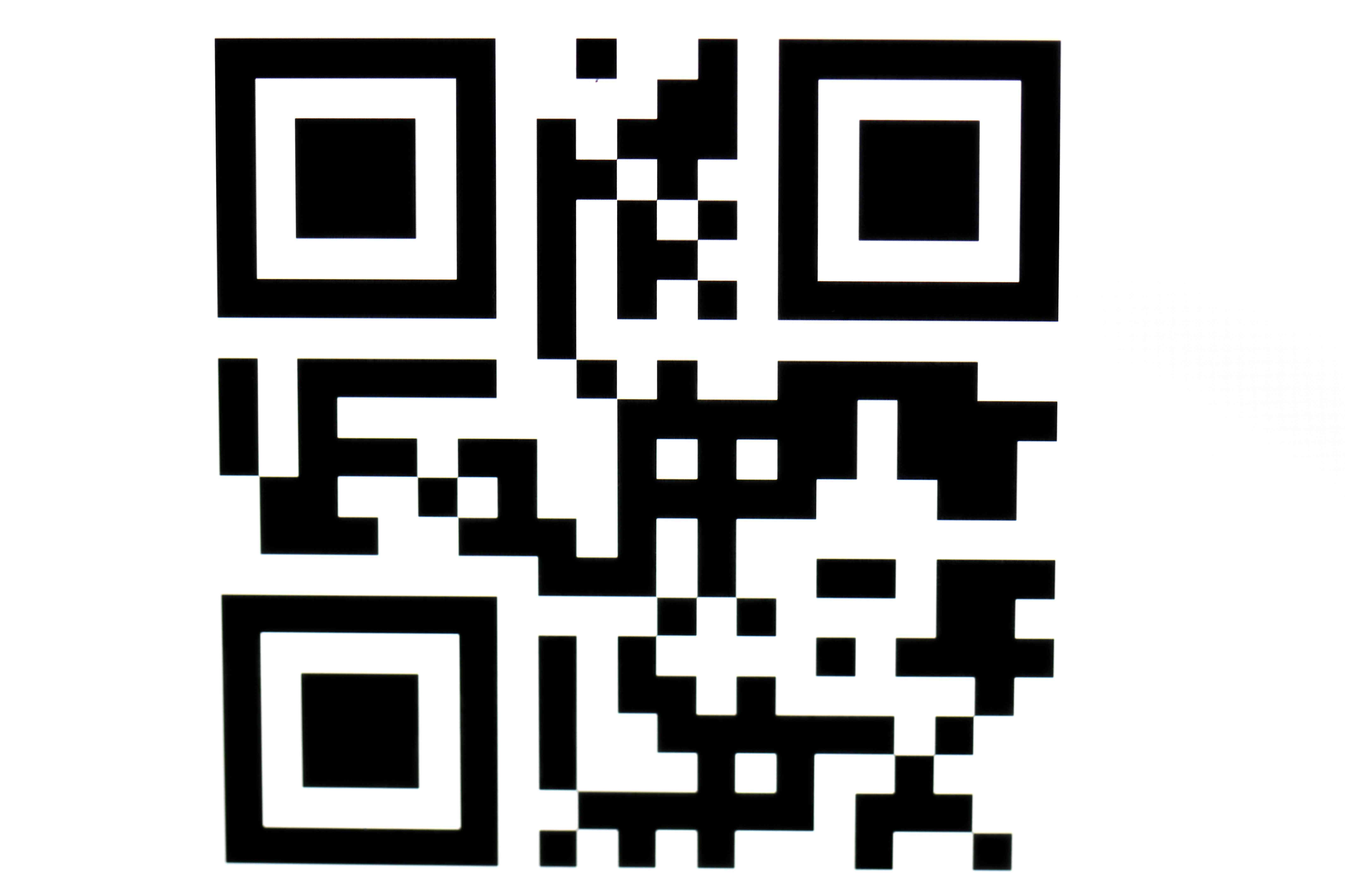 QR barcode for data labeling