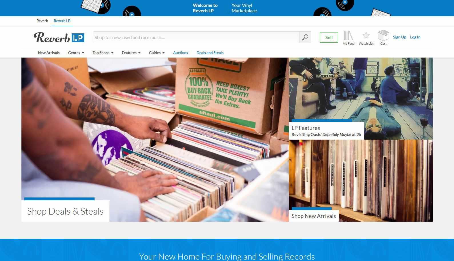 Screenshot of Reverb LP