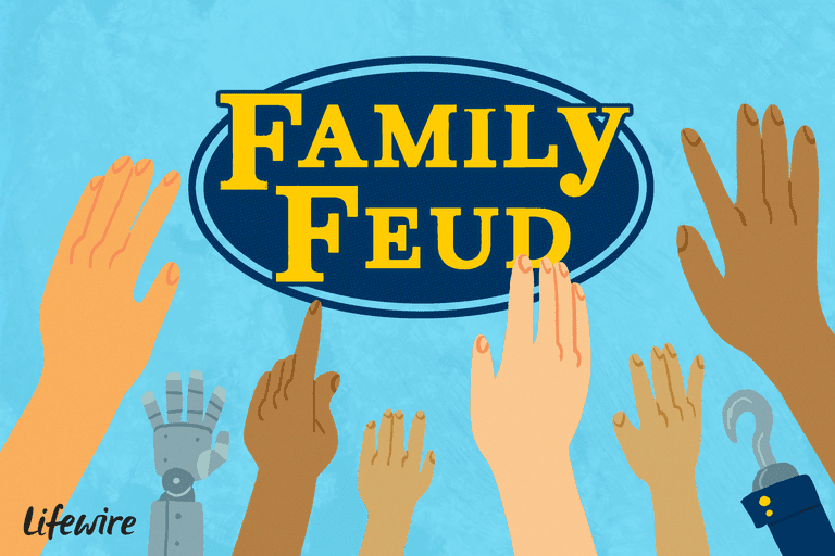 Free Family Feud PowerPoint Templates for Teachers