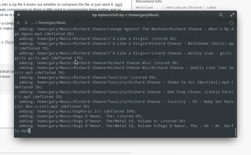 How to Compress Files Using the Linux Command Line