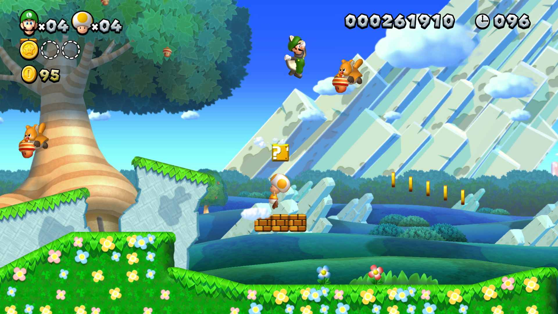 New Super Mario U Deluxe offline kids video game.