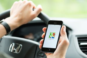 Google Maps Phone Navigation