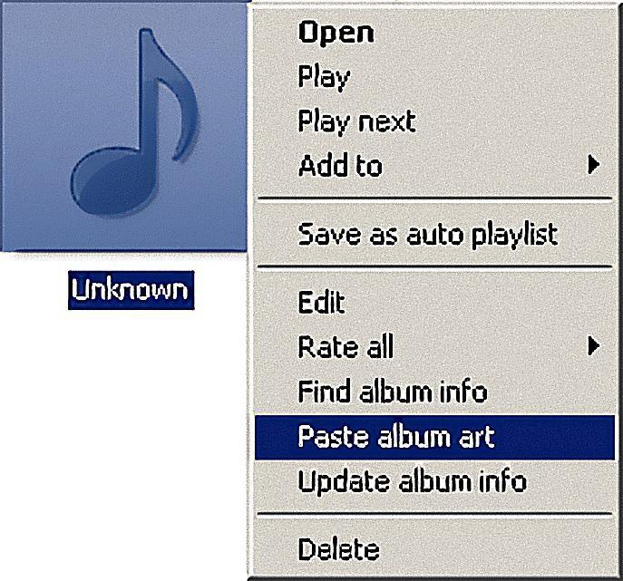 automatic album art finder