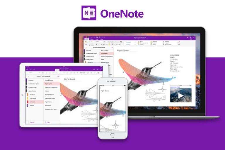 Microsoft OneNote promo image