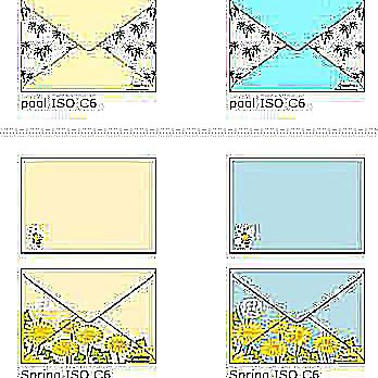 envelope templates with artwork